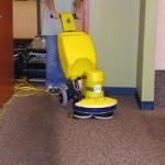 carpet scrubbing machine london