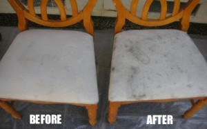 wooden chair cleaning